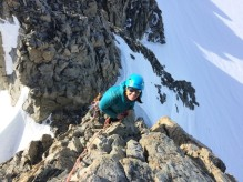 First climbing trip of the season. Photo credit S. Doyle
